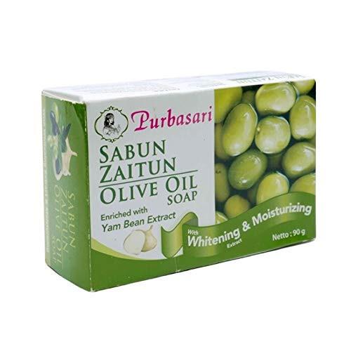 Purbasari Bar Soap - Zaitun (Olive Oil), 90 Gram