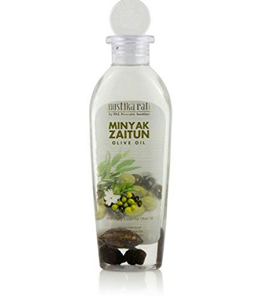 Mustika Ratu Olive Oil Skincare Massage Oil/Minyak Zaitun 175ml