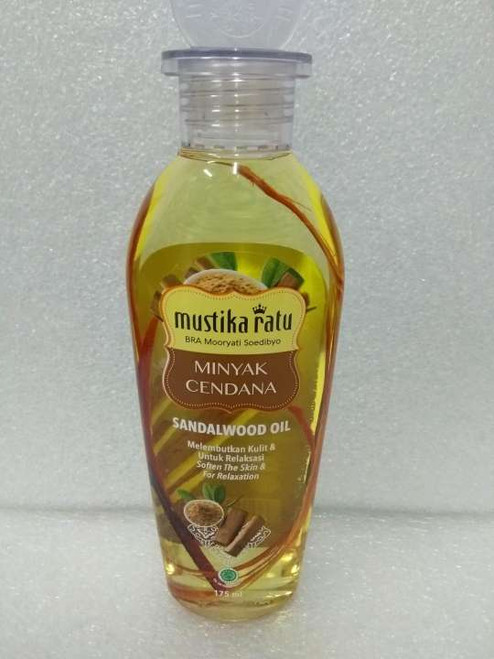 Mustika Ratu Minyak Cendana (Sandalwood Oil), 175 Ml