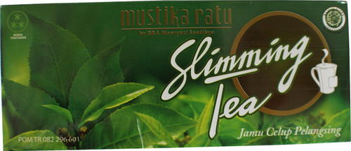 Mustika Ratu Slimming Tea Herbal 30-ct, 60 Gram