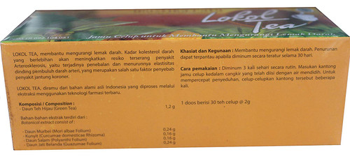 Mustika Ratu Lokol Tea 30-ct