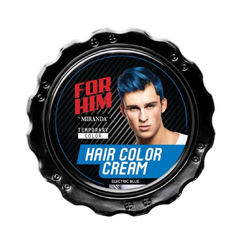 Miranda FOR HIM Hair Color Cream -  ELECTRIC BLUE  80GR