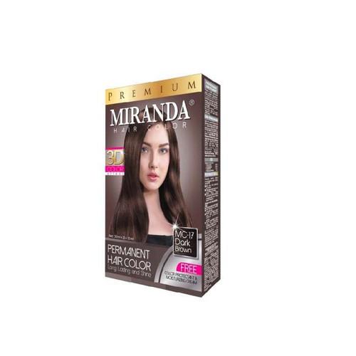 Miranda Hair Color Dark Brown MC-17 (30ml + 30gr)