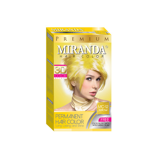 Miranda Hair Color Yellow (MC-12) 60ml