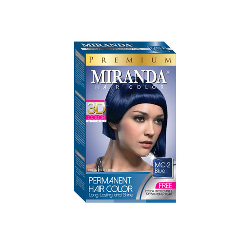 Miranda Hair Color Blue (MC-2) 60ml