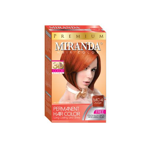 Miranda Hair Color Orange (MC-4) 60ml