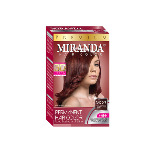 Miranda Hair Color Floweriness Red MC-7 (30ml + 30gr)