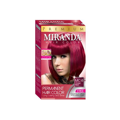 Miranda Hair Color Violet Red MC-8 (30ml + 30gr)