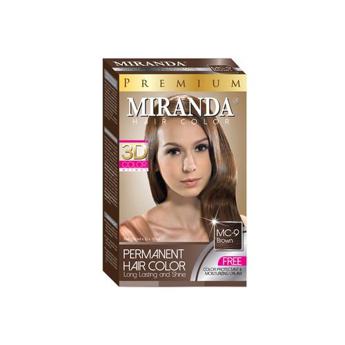 Miranda Hair Color Brown (MC-9) 60ml