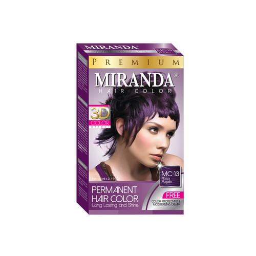 Miranda Hair Color Rose Purple MC-13 (30ml + 30gr)