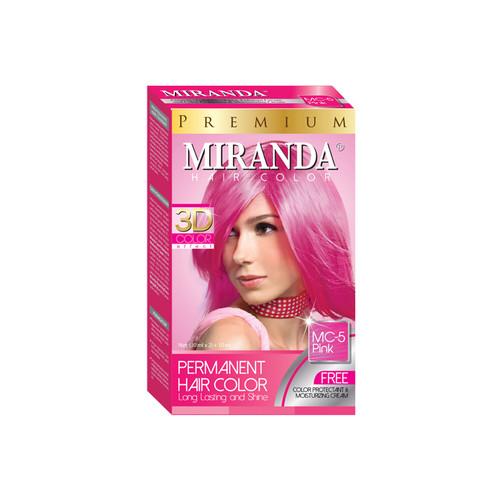 Miranda Hair Color Pink MC-5 (30ml + 30gr)
