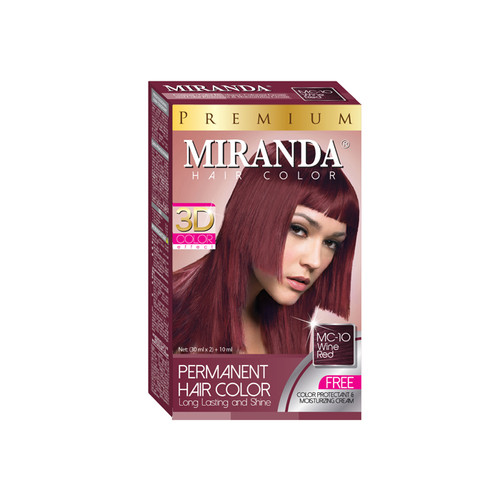 Miranda Hair Color Wine Red MC-10 (30ml +30gr)