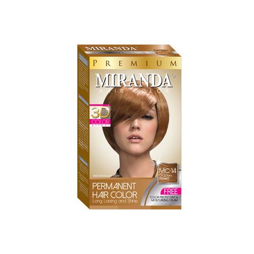 Miranda Hair Color Golden Brown MC-14 (30ml + 30gr)