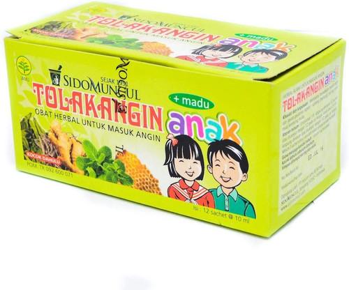 Sido Muncul Tolak Angin Anak Herbal with Honey 12-ct, 120 ml