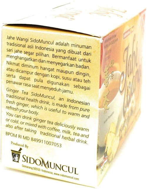 Sido Muncul Jahe Wangi - Ginger Drink 5-ct, 125 Gram (1 Pack)
