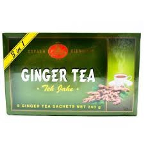 Kepala Djenggot Ginger Tea 8-ct sachet, 240 Gram