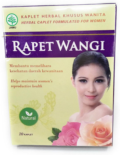 Rapet Wangi Herbal Caplet Formulated for Women