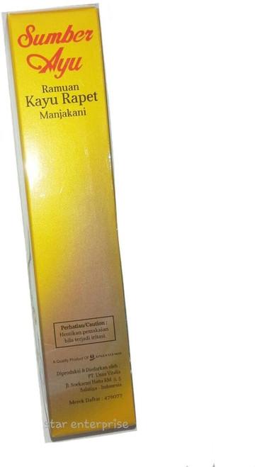 Sumber Ayu Vaginal Cleanser, from Natural Herbal: Piper Betle Leaves, Manjakani, Kayu Rapet