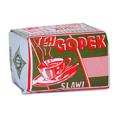 Teh Gopek Super Loose Jasmine Tea (Bungkus Hijau), 80 Gram