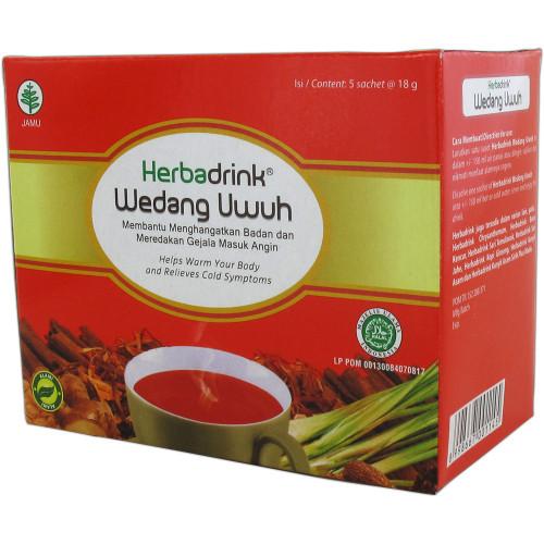 Herbadrink Wedang Uwuh Powder 5-ct, 90 Gram