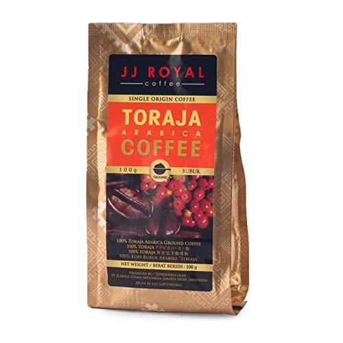 JJ Royal Toraja Arabica (Ground Coffee), 100 Gram