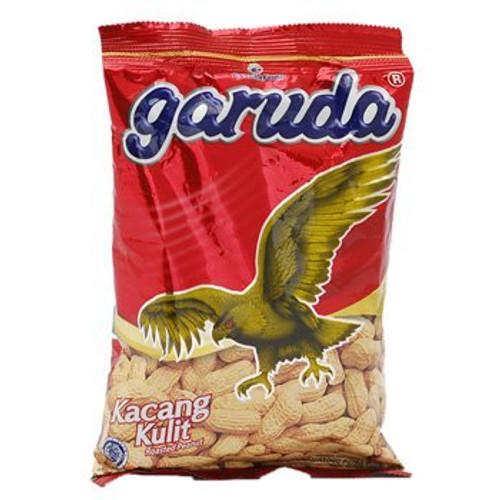 Garuda Kacang Kulit - Roasted Peanuts Original Flavor, 2.64 Oz
