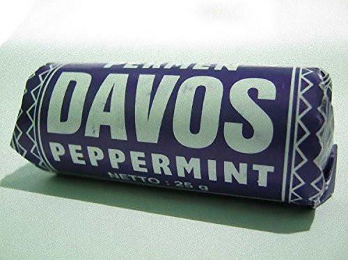 Davos Peppermint Candy Permen Indonesian Classic Tempo Dulu 25 Gram
