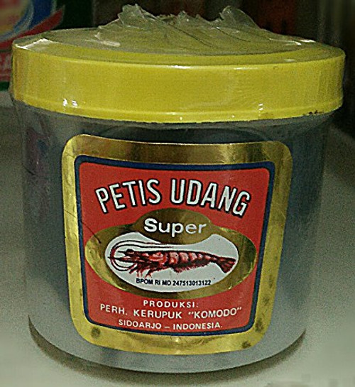 Komodo Petis Udang Super Shrimp Paste, 200 Gram
