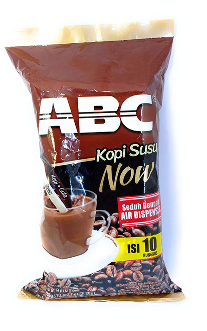 Kopi ABC Susu Now (Instant Coffee)10-ct, 280 Gram