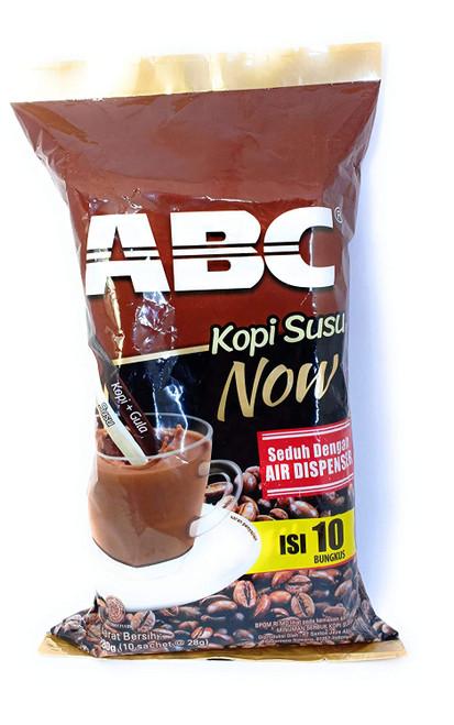 Kopi ABC Susu Now (Instant Coffee)10-ct, 280 Gram