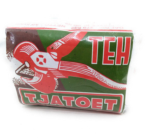 Teh Tjatoet Kwalitet Istimewa Jasmine Tea Green Paper Wrap, 80 Gram