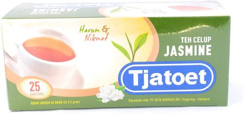 Teh Tjatoet Jasmine Tea 25-ct, 50 Gram