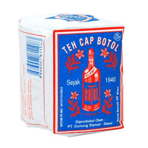 Bottle Brand Loose Tea Blue-pack - Teh Bubuk Cap Botol Bungkus Biru 80 Gram