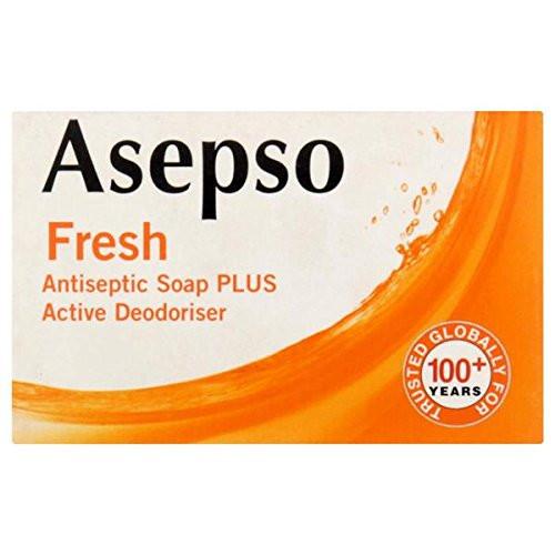 Asepso Fresh Antiseptic plus Active Deodoriser 80gr