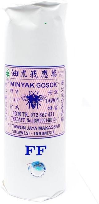 Cap Tawon (Bee Brand - Jamu- Minyak Gosok Medicated Oil Topical Analgesic FF, 90 ml