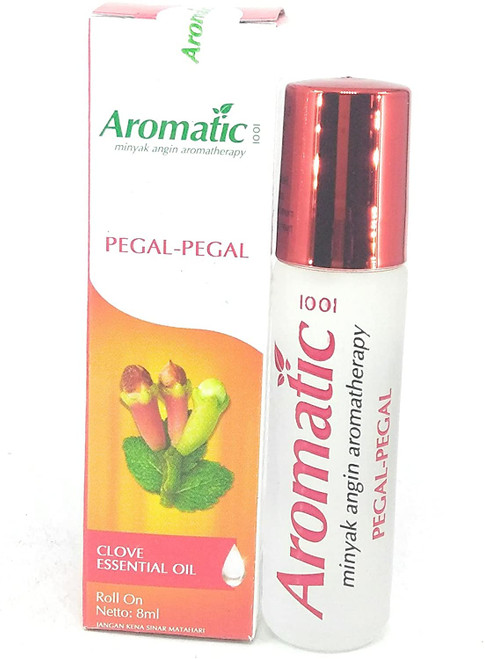 Aromatic 1001 Aromatherapy Oil - Pegal-Pegal (with Clove Oil), 8 Ml