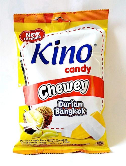 Kino Candy Chewey Durian Bangkok, 98 Gram