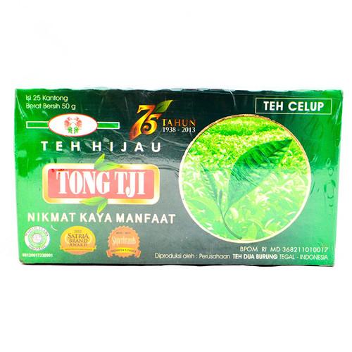 Tong Tji Green Tea 25-ct, 50 Gram
