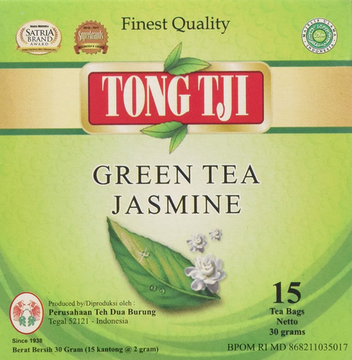 Tong Tji Jasmine Green Tea Bag, 1.0 Ounce