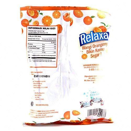 Relaxa Candy Orange Mint, 135 gram