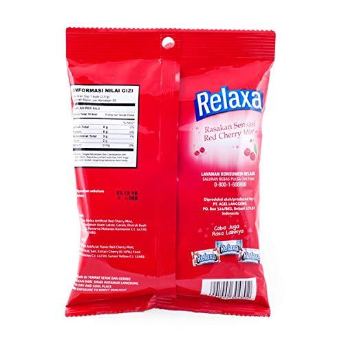 Relaxa Candy Cherry Mint, 135 gram