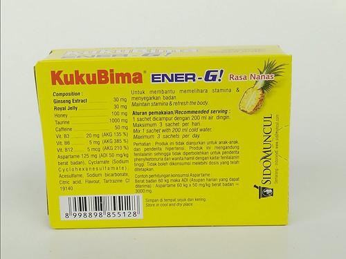 Sido Muncul Kuku Bima Ener-G! Energy Drink Powder (Pineapple)