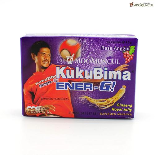 Sido Muncul Kuku Bima Ener-G! Energy Drink Powder (Grape)