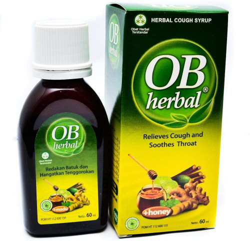 OB Herbal Coungh Syrup, 60ml