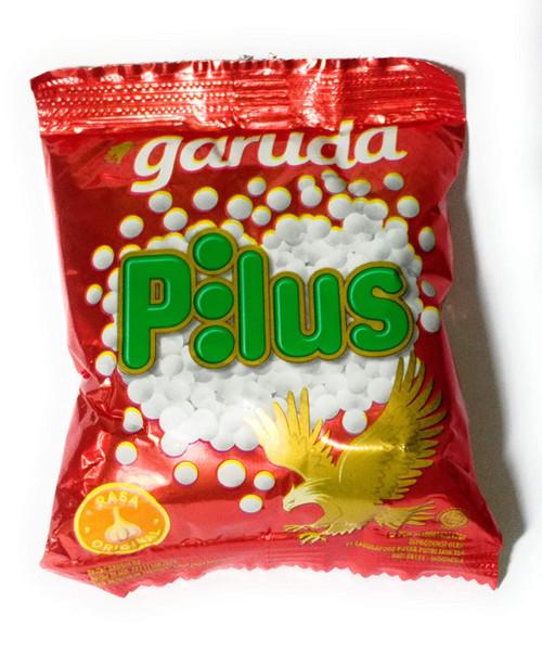 Garuda Snack Pilus Shapped Ball Crackers Original Flavor, 9 Gram (20 sachets)