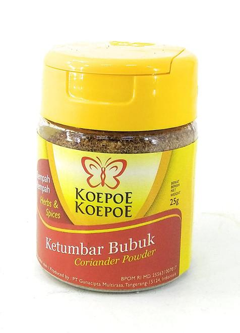 Koepoe-Koepoe Ketumbar (Coriander Powder), 25 Gram