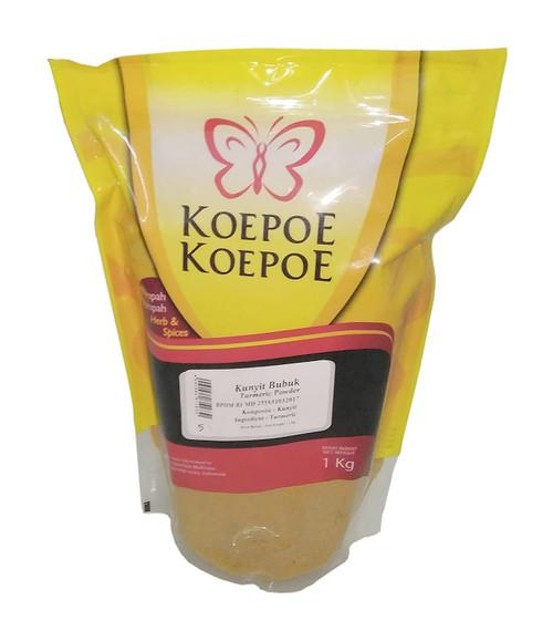 Koepoe-koepoe Kunyit Bubuk - Turmeric Powder, 1Kg(2.2 Lbs)