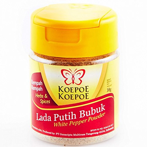 Koepoe-koepoe Lada Putih Bubuk, 38 Gram