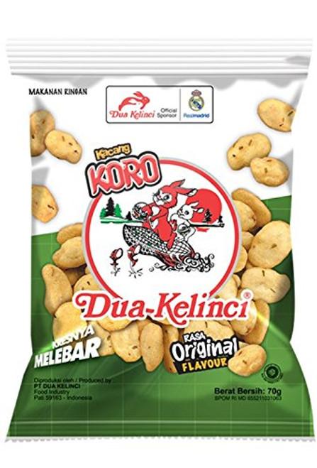 Dua Kelinci Kacang Koro Original, 70 Gram