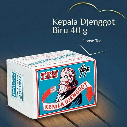 Kepala Djenggot Teh Bungkus Biru- Jasmine Loose Tea, 40 Gram